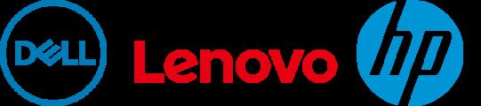 Dell, HP & Lenovo